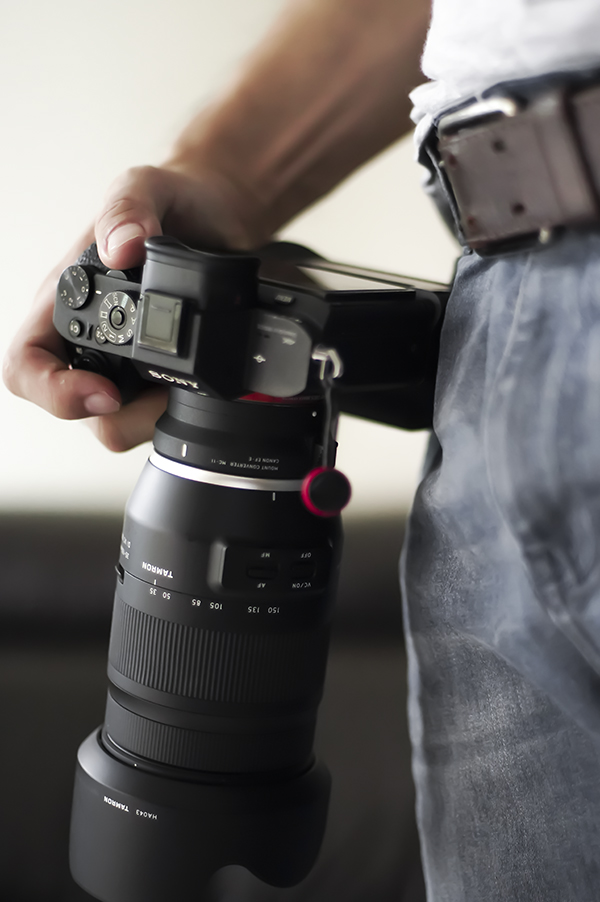 Picture of holding a camera